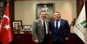 CHP İnhisar İlçe Başkanı Bayrak'tan Ataç'a ziyaret