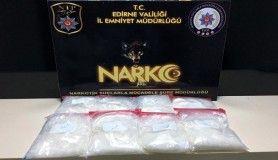 Edirne merkezli 4 ilde ortak uyuşturucu operasyonu: 7 gözaltı