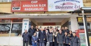 CHP'liler, Başkan Kızıldaş başkanlığında toplandı