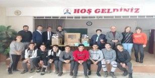 Muzaffer Demir Anadolu Lisesine anlamlı bağış