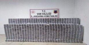Van'da 21 bin paket kaçak sigara ele geçirildi
