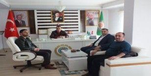 Malazgirt Yüksekokul Müdürü Baş'tan Ziraat Odasına ziyaret