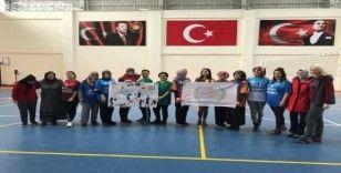 """Nevşehir'de """"Evinin Sultanları"""" voleybol turnuvası başladı"""