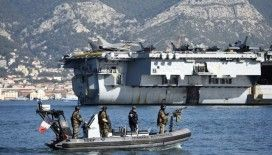 Fransa Kıbrıs'a uçak gemisi gönderdi