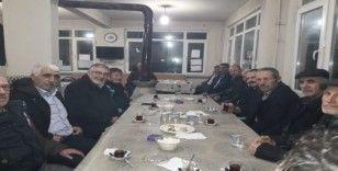 İnönü Belediye Başkanı ve meclis üyeleri mahallelilerle buluştu