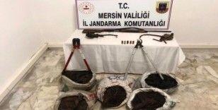 Mersin'de 4 hırsızlık şüphelileri yakalandı