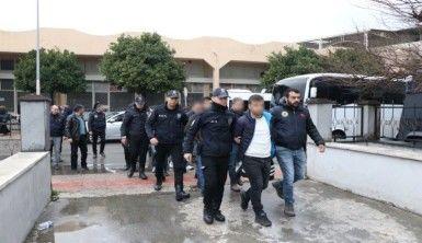 PKK'nın gençlik yapılanması mensubu 13 şüpheli adliyeye sevk edildi