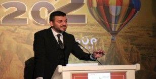 """Başkan Aktürk, """"Kongre turizminin geliştirilmesi için güzel bir örnek"""""""