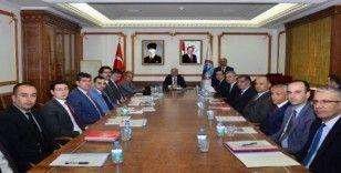 Kırşehir'de, tarım ve hayvancılık değerlendirme toplantısı yapıldı