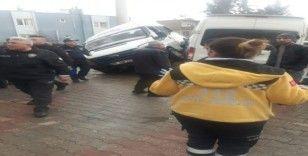 Osmaniye'de öğrenci taşıyan iki minibüs kaza yaptı: 20 yaralı