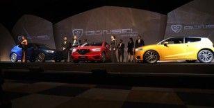 KKTC ilk yerli otomobili 'Günsel'i tanıttı