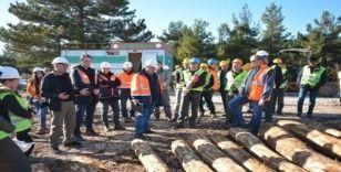 Ormanda 'İş güvenliği' tatbikatı