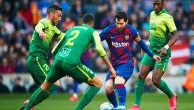 Barcelona Messi ile kazandı