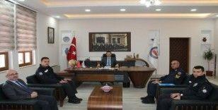 Hisarcık'ta 'Yol ve trafik güvenliğinin sağlanması' toplantısı