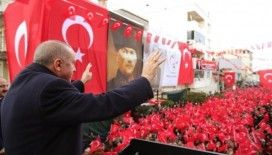 Cumhurbaşkanı Erdoğan: 'Ne hizmet ediyorlar, ne de hizmet edilmesine müsaade ediyorlar'