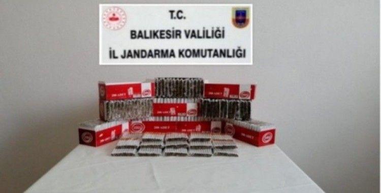 İvrindi'de kaçak sigara operasyonu