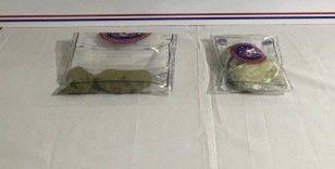 Elazığ'da 1 şüpheli yarım kilo toz esrarla yakalandı