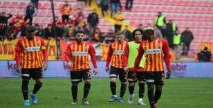Kayserispor galibiyete hasret