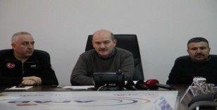 Bakan Soylu: 'Elazığ ve Malatya'ya kamu yardım miktarı 458 milyon lira'