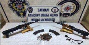 Batman'da silah kaçakçılarına darbe
