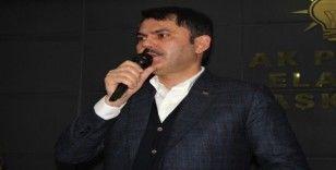 Bakan Kurum: 'Asgari ücret alan bir vatandaşımızın ödeyebileceği şartları hep beraber oluşturacağız'