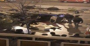 Denizli'de feci kaza: 1 ölü, 3 yaralı