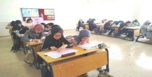 Hisarcık'ta kazanım değerlendirme sınavı yapıldı