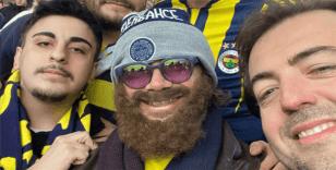 Fenerbahçe efsanesi Diego Lugano derbiyi kılık değiştirerek izledi