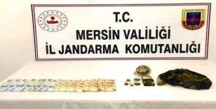 Mersin'de uyuşturucu operasyonları: 9 gözaltı