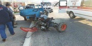 Bozyazı'da kaza; 2 yaralı