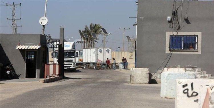 İsrail, Gazze'nin tek ticari sınır kapısını kapattı