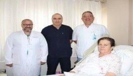 Şifayı Kütahya Evliya Çelebi Eğitim ve Araştırma Hastanesi'nde buldu