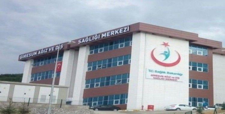 Giresun Ağız ve Diş Sağlığı Merkezinde 2019 yılında 106 bin 272 hastaya poliklinik hizmeti