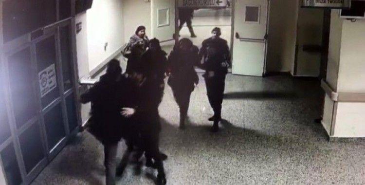 Hasta yakınları güvenlikçilere saldırdı