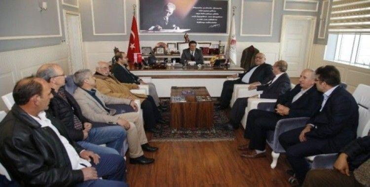Başkan Genç, Akdeniz Konyalılar Federasyonu üyelerini ağırladı