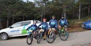 Belediyespor bisiklet takımı dört dörtlük