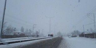 Tuzluca'da yoğun kar yağışı nedeniyle eğitime ara verildi