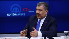 Koca: 'Sınır bölgesinde sahra hastaneleri oluşturuldu'