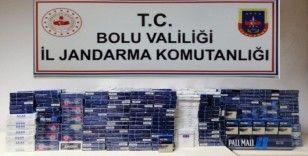 Bolu'da 14 kişi kaçak sigara ile yakalandı