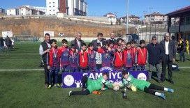 Merkez Ortaokulu Küçükler Futbol Takımı, Şampiyon Oldu
