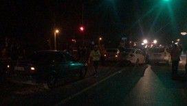 D-100 karayolunda zincirleme trafik kazası: 3 yaralı