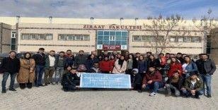 NEVÜ Avanos MYO öğrencileri Şanlıurfa 7.Tarım fuarına katıldı