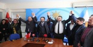 Başkan Oprukçu'dan AK Parti İlçe Başkanlığına ziyaret