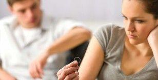 Boşanmaların üçte ikisi evliliğin ilk beş yılı içinde gerçekleşti