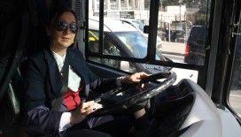 İstanbul'un şoför Nebahatlari iş başında