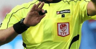 TFF 1. Lig'de 25. haftanın hakemleri açıklandı