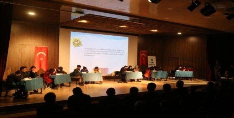 Gürpınar belediyesinden liseler arası bilgi yarışması