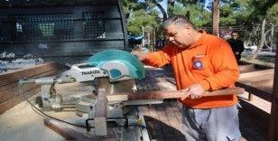 Doyran'da yerel üretici tezgahları yenileniyor
