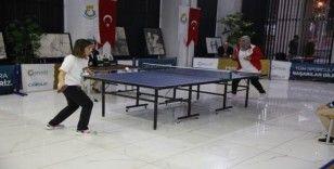 Haliliye'de 1'inci Göbeklitepe masa tenisi turnuvası düzenlendi