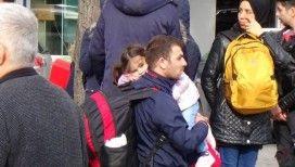 İl Göç İdaresi önünde mülteci yoğunluğu